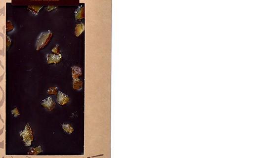 Dark chocolate - candied orange - organic - Bovetti