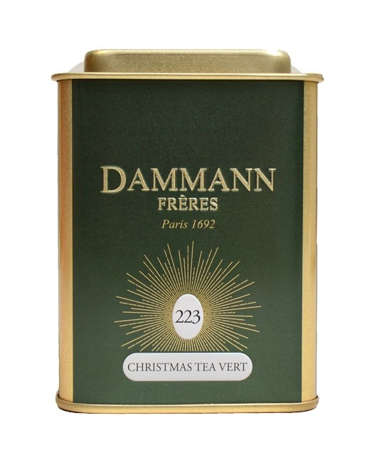 Christmas Tea Green - Dammann Frères
