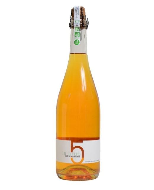 Organic raw cider of Normandy - Domaine des Cinq Autels