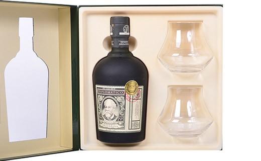 Rum Diplomatico Exclusive Reserve - 2 glasses set - Diplomatico