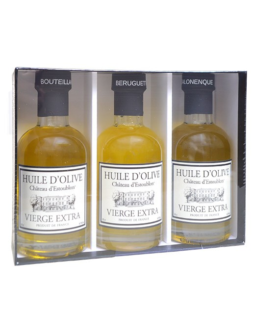 Discovery Box - single variety olive oils - Château d'Estoublon