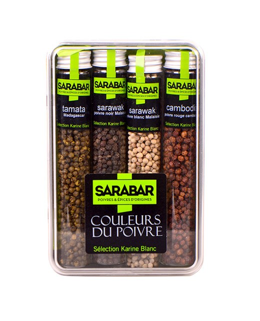 Boxed set:  'Colours of Pepper' - Sarabar