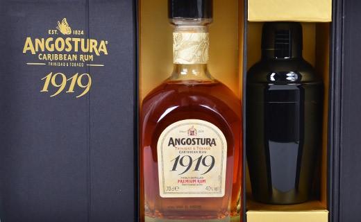 Gift set Angostura 1919 Rum, and its shaker - Angostura