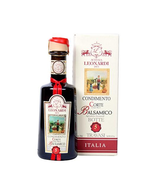 Balsamic Condiment - 5 years old - La Corte - Leonardi