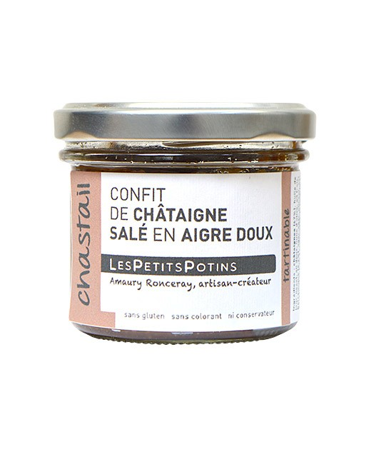 Sweet-and-sour chestnut confit - Les Petits Potins