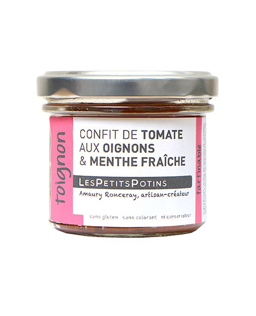 Tomato confit with onion and cumin - Les Petits Potins