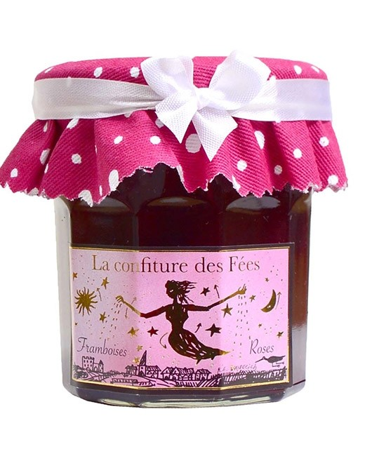 Fairies' marmalade - raspberry with rose - Christine Ferber