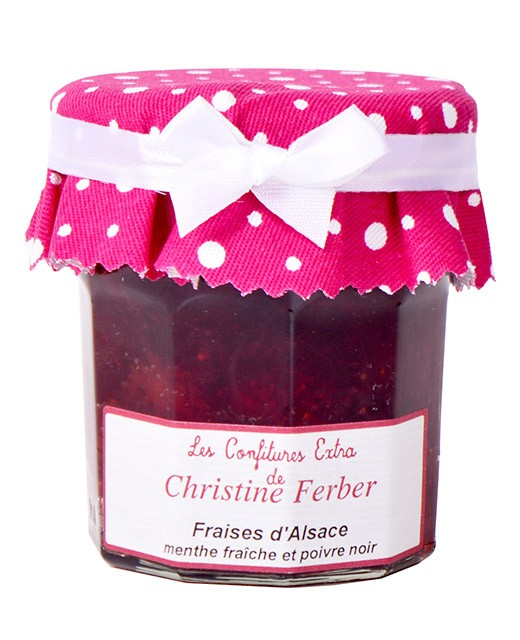Strawberry jam with fresh mint and black pepper - Christine Ferber