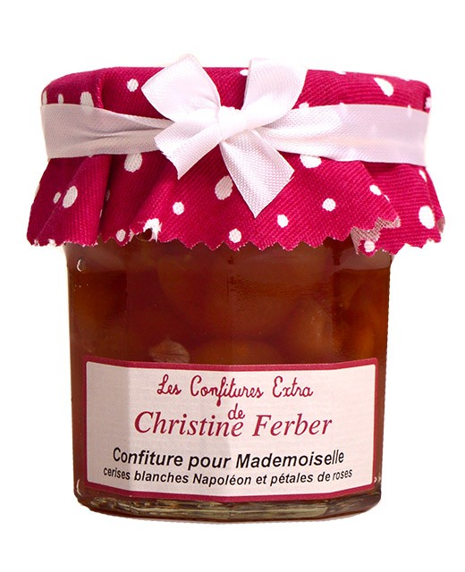 White cherry and rose jam for Mademoiselle - Christine Ferber