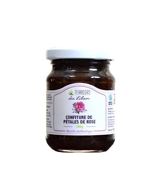 Rose petal jam - Terroirs du Liban