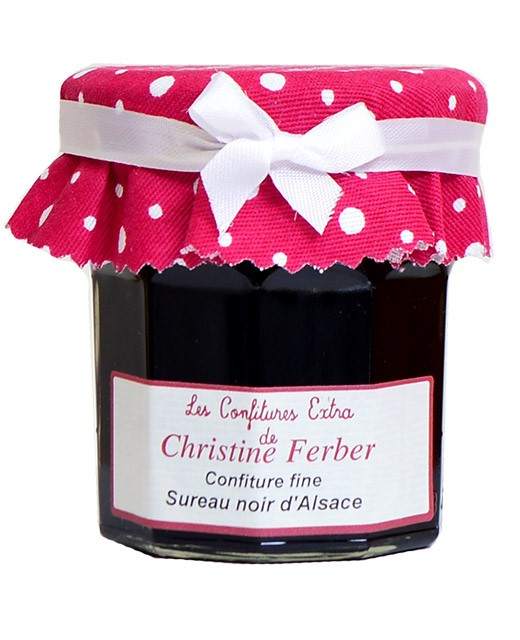 Black elderberry jam from Alsace - Christine Ferber