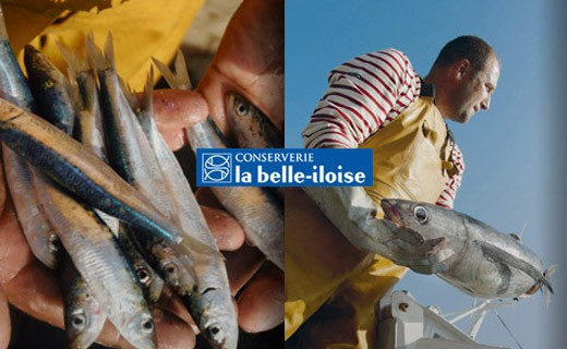 Sardines without fishbone in extra virgin olive oil - La Belle-Iloise