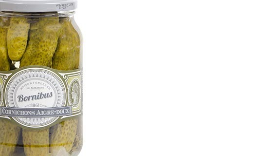 Sweet and sour pickles - Bornibus