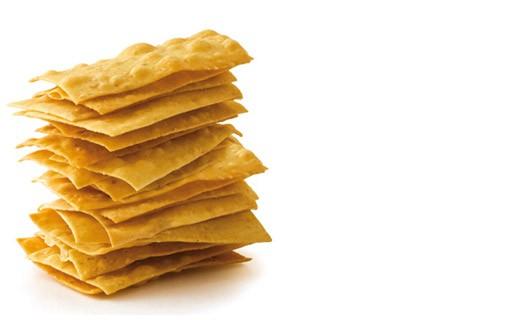 Crocca in Bocca crackers - Parmesan - Dalla Val