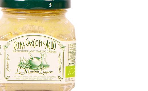 Organic artichoke and garlic cream - La Macina Ligure