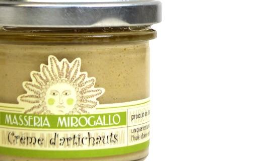 Artichoke cream - Masseria Mirogallo