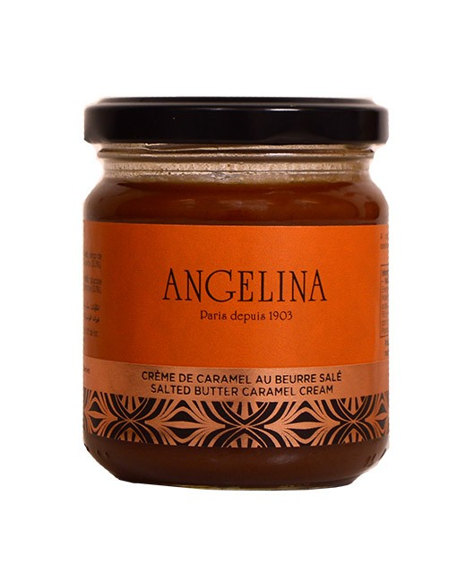 Caramel with salty butter spread - Angelina