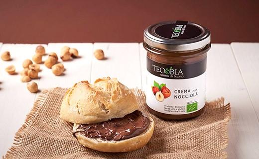 Spread - Organic hazelnut cream from Piedmont - Teo & Bia