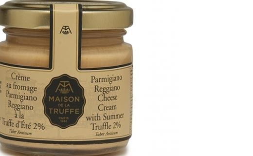 Parmesan and summer truffle cream  - Maison de la truffe