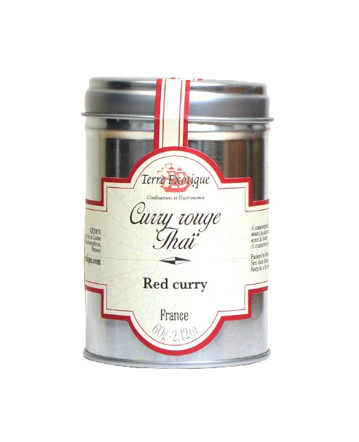 Thai red curry - Terre Exotique