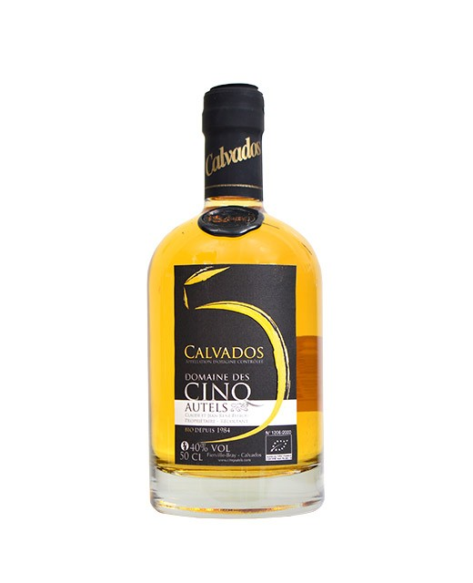 Organic 12 years old Calvados - Domaine des Cinq Autels