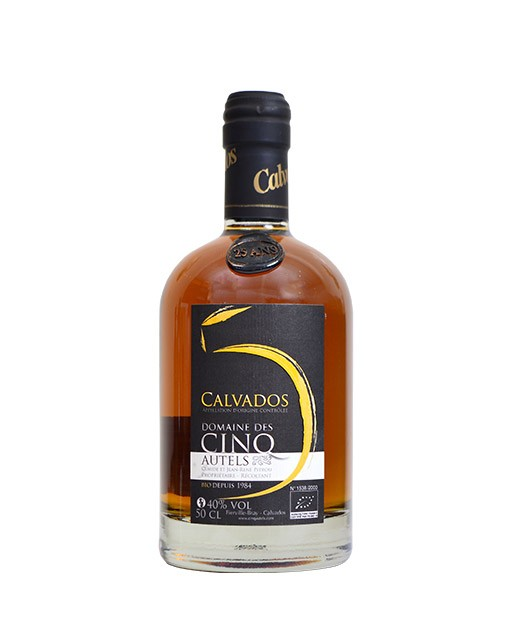 Organic 25-year-old Calvados