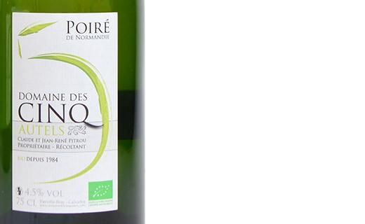 Organic perry of Normandy - Domaine des Cinq Autels