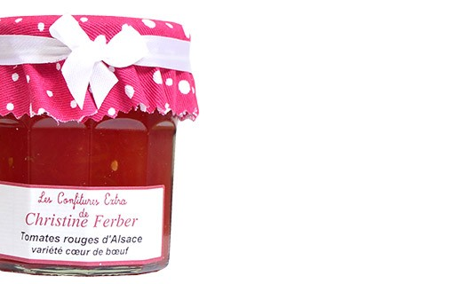 Red tomato jam from Alsace - Christine Ferber
