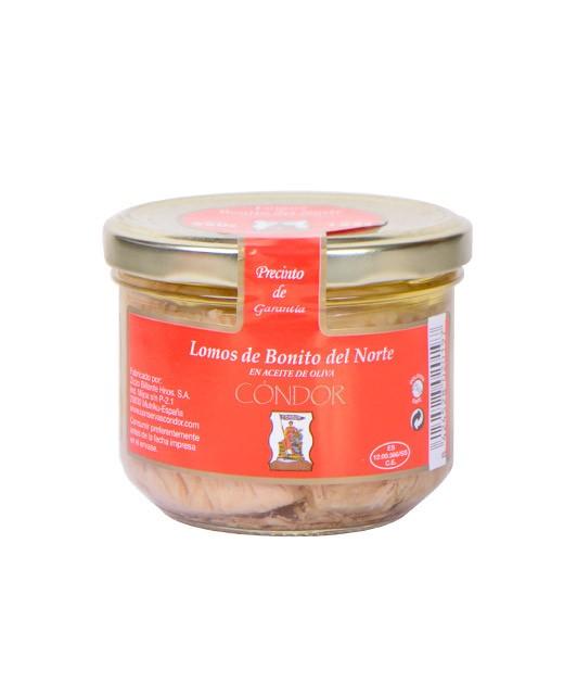 Albacore tuna fillet in olive oil - Condor