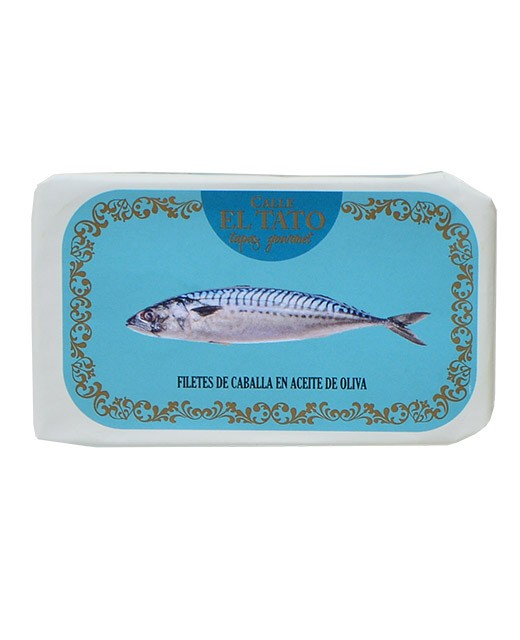 Mackerel fillets in olive oil - Calle el Tato