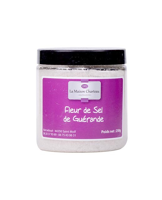 "French sea salt ""Fleur de Sel"" - Maison Charteau"