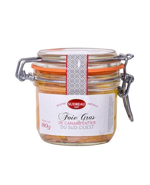 Whole duck foie gras - Sudreau