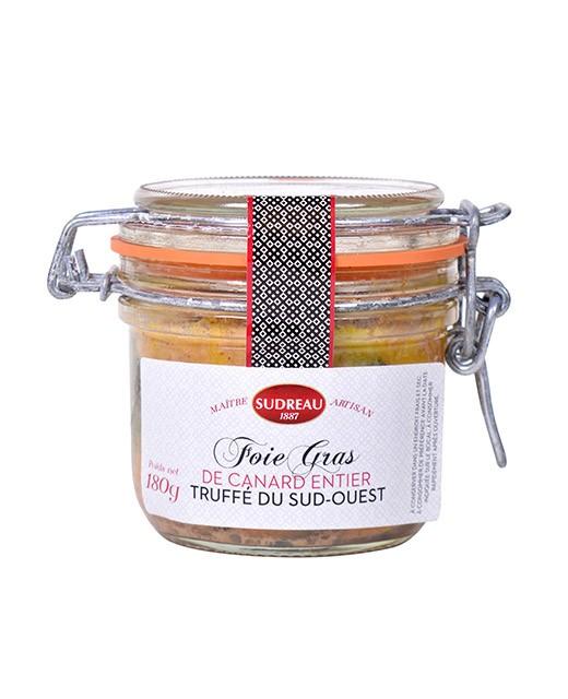 Whole duck foie gras - truffled - Sudreau