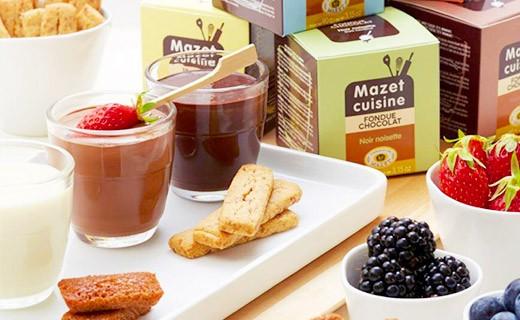 Chocolate Fondue - Dark chocolate and orange - Mazet