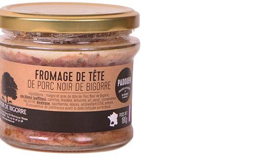 Bigorre black pork brawn - Padouen