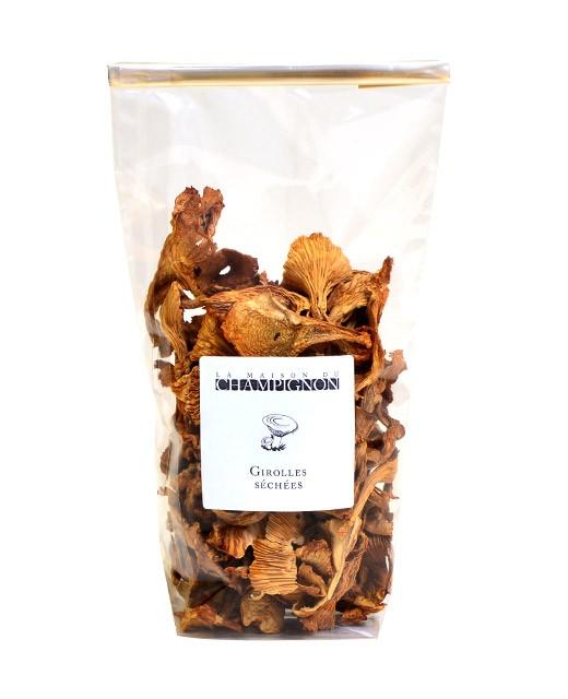 Dried chanterelles  - La Maison du Champignon