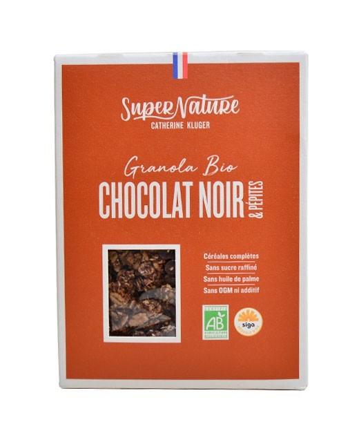 Dark chocolate granola & organic chips - Catherine Kluger