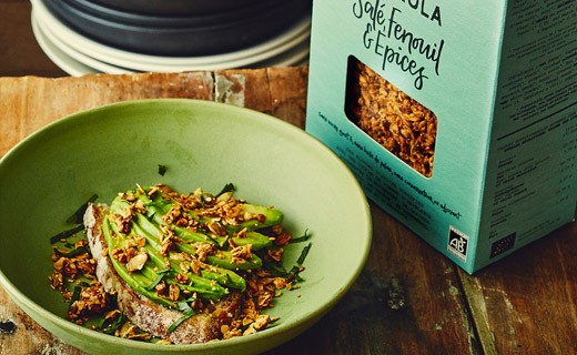 Salted fennel granola & organic spices - Catherine Kluger