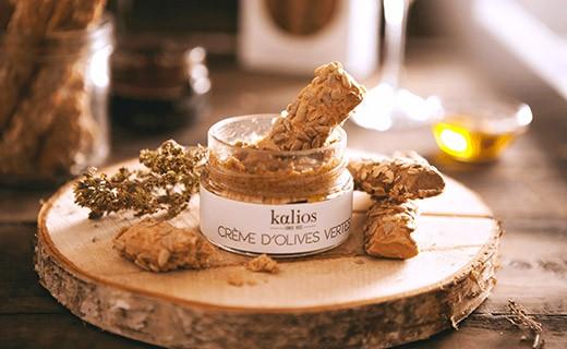 Cretan breadsticks - sunflower seeds  &extra-virgin olive oil - Kalios