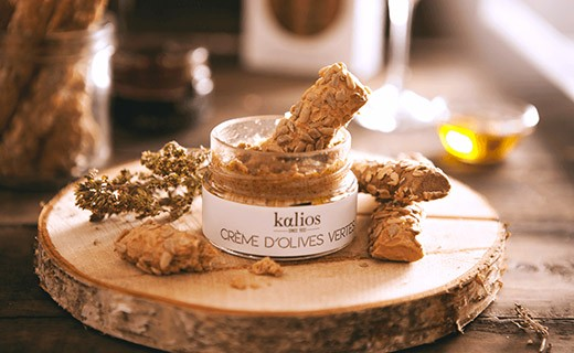 Cretan breadsticks - Kalamata olives  &oat flakes - Kalios
