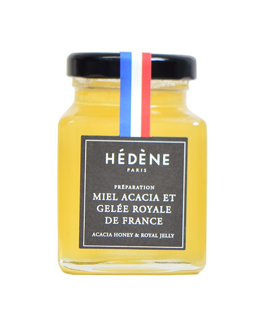 French acacia honey and royal jelly - Hédène