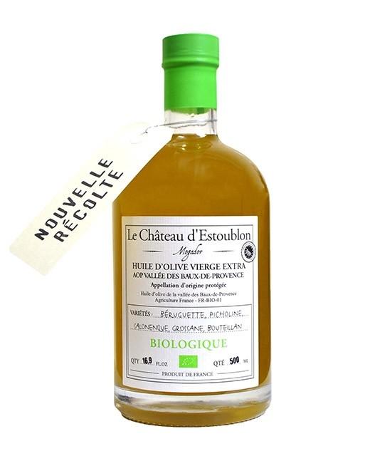 Extra virgin olive oil -  PDO Vallée des Baux de Provence - Château d'Estoublon