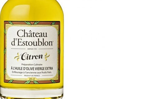 Lemon flavoured olive oil - Château d'Estoublon