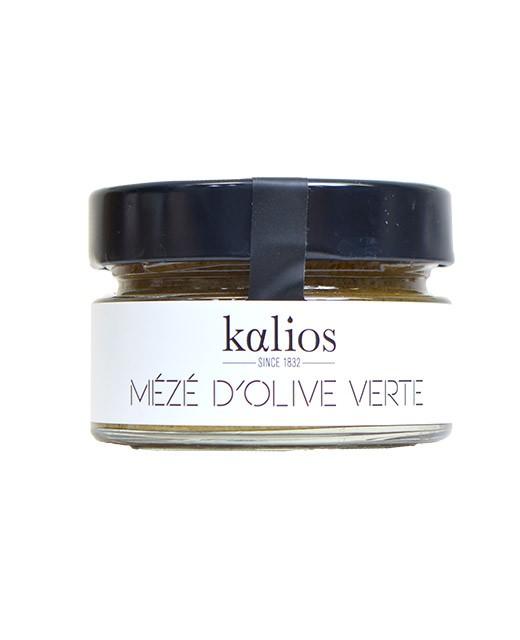 Green olives cream