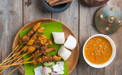 Thai Satay kebab kit - Blue Elephant