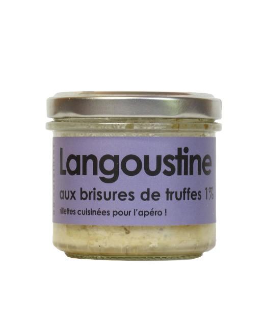 Scampi with truffle fragments - L'Atelier du Cuisinier