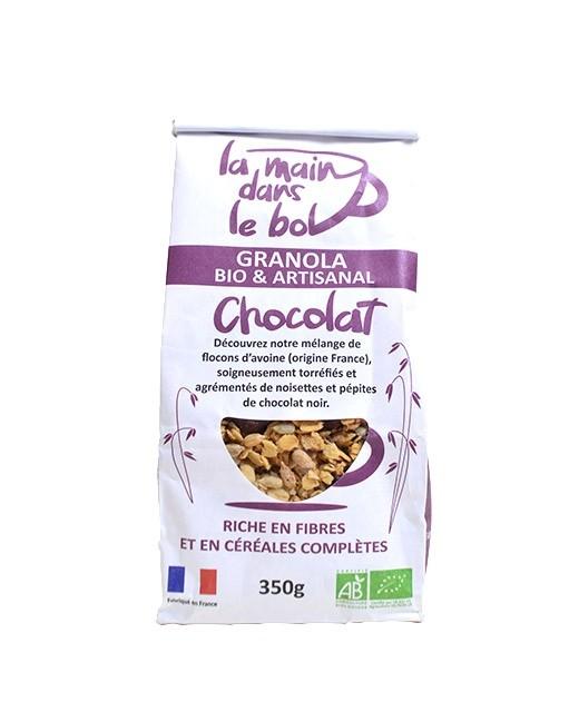 Organic granola - Chocolate - La Main dans le Bol