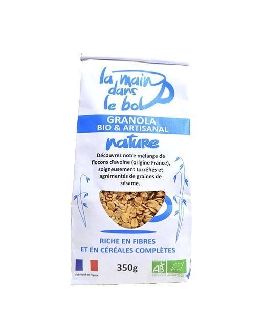 Organic granola - Natural - La main dans le bol