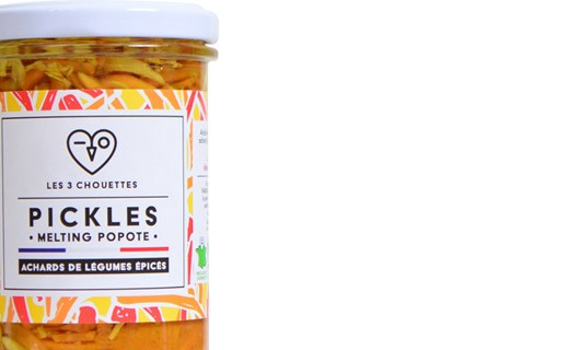 Spicy vegetable acars - Melting Popote - Les 3 Chouettes