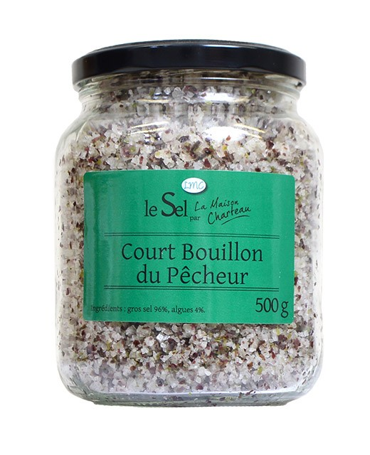 French sea salt with algae - Maison Charteau